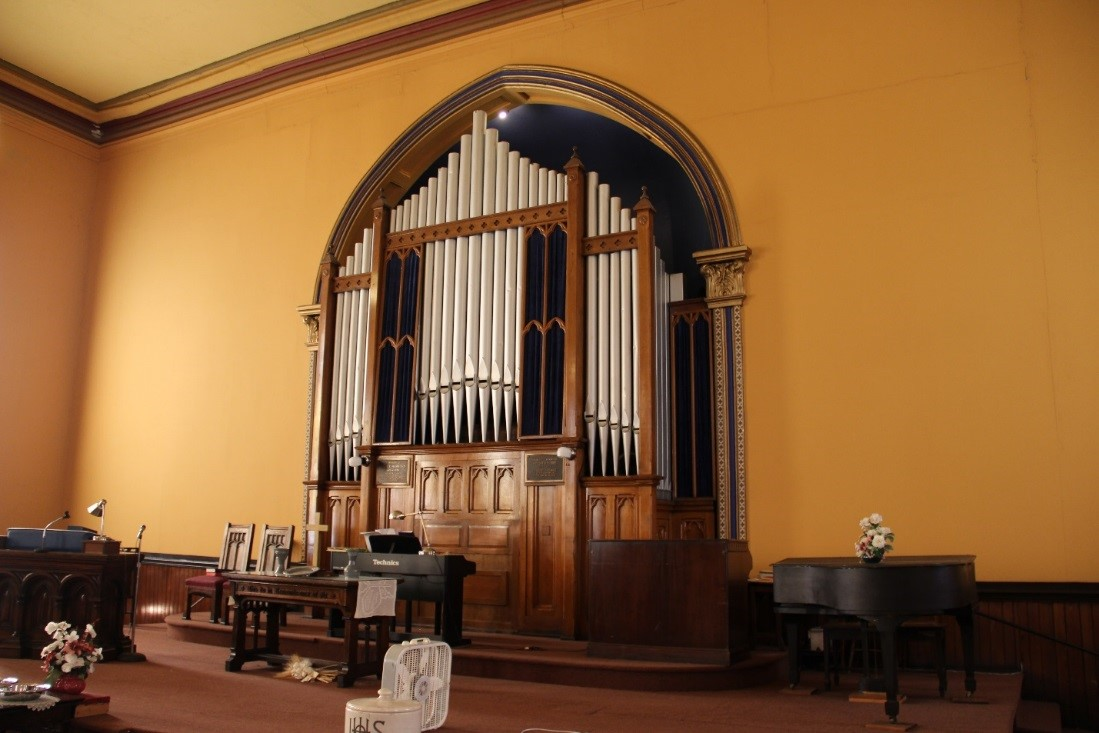 45 View southeast showing organ detail (with apse behind it).jpg