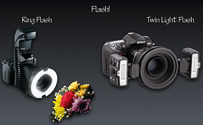 Ring and Twin Flash Units