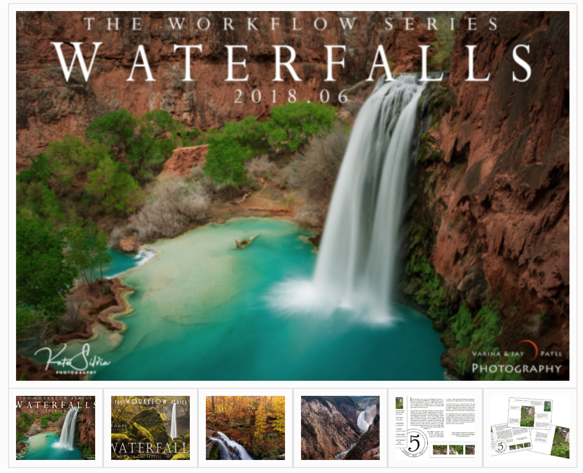 The Workflow Series: Waterfalls - 7 Adobe Lightroom Tutorials Over 80 minutes of video, Plus a FREE E-Book