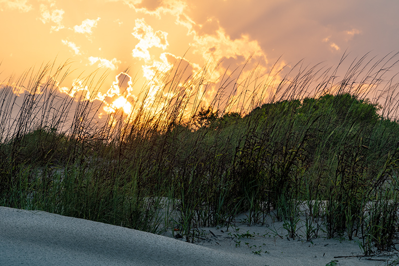 Sullivan's Island Sunset and Dunes-HDR.jpg