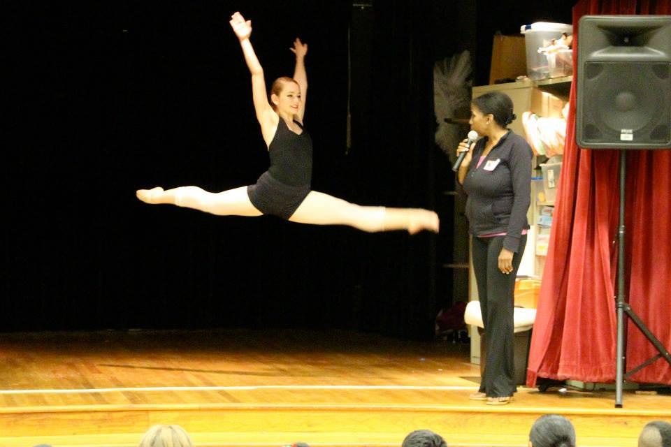 Dancing at Sherwood Elementary