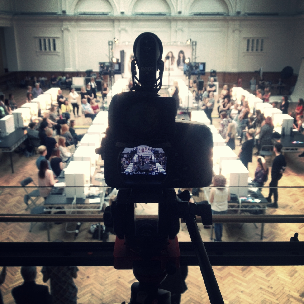 ghd take over the Royal Horticultural Halls for the day