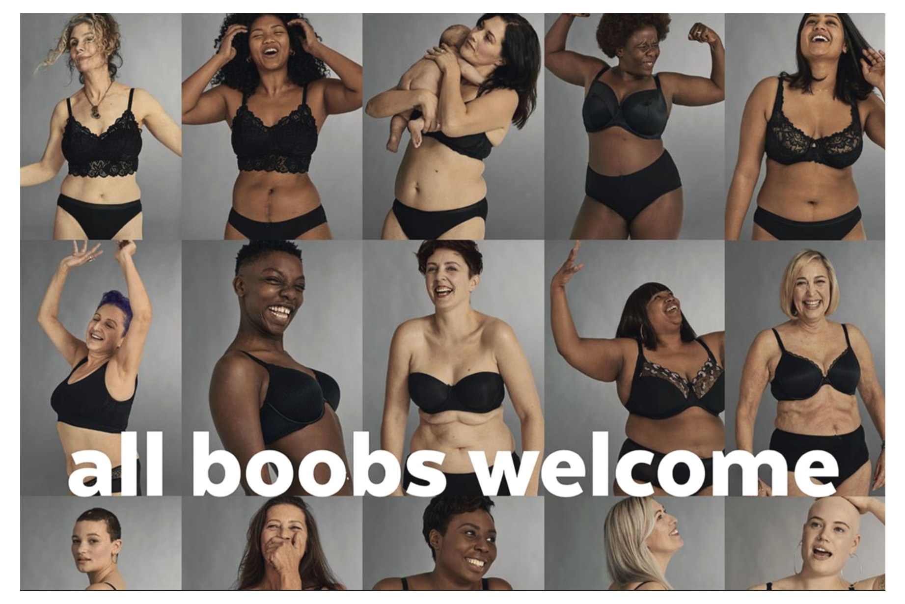 All Boobs Welcome Campaign Images. Agency: Portas