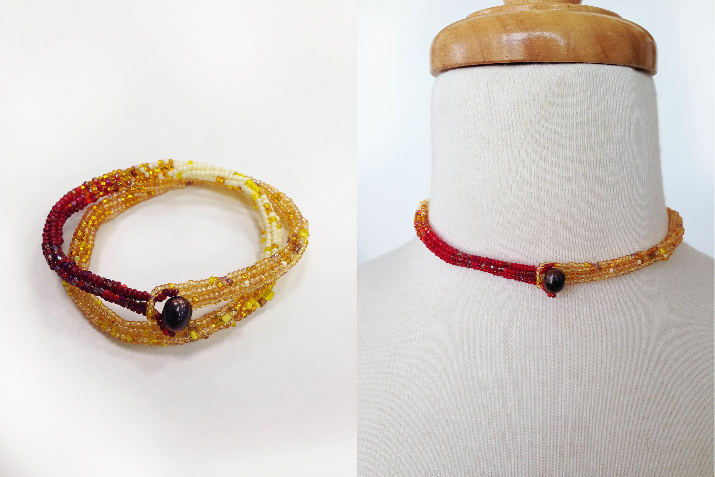 Golden Bracelet / Choker