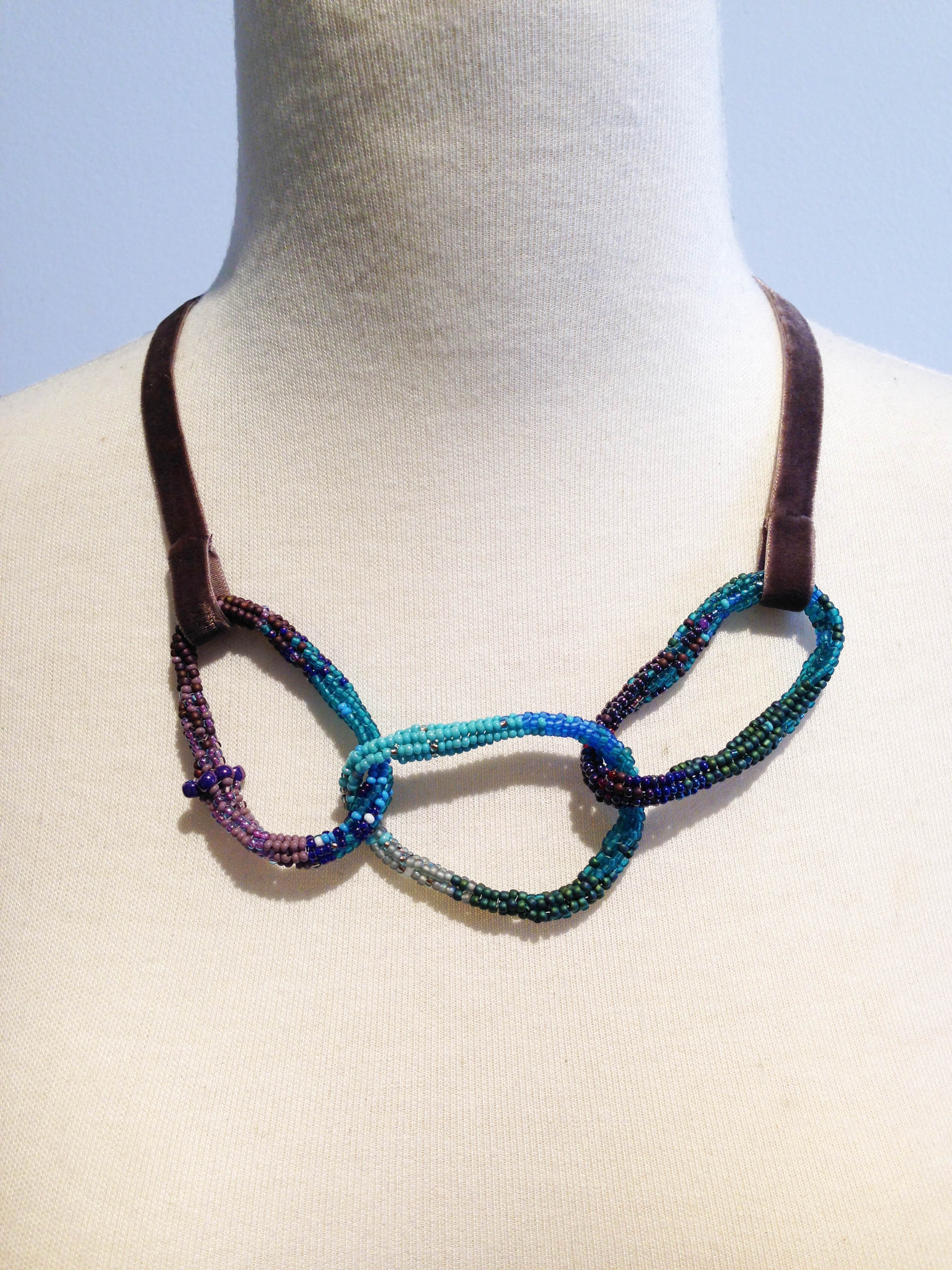 Velvet Tie Bracelet