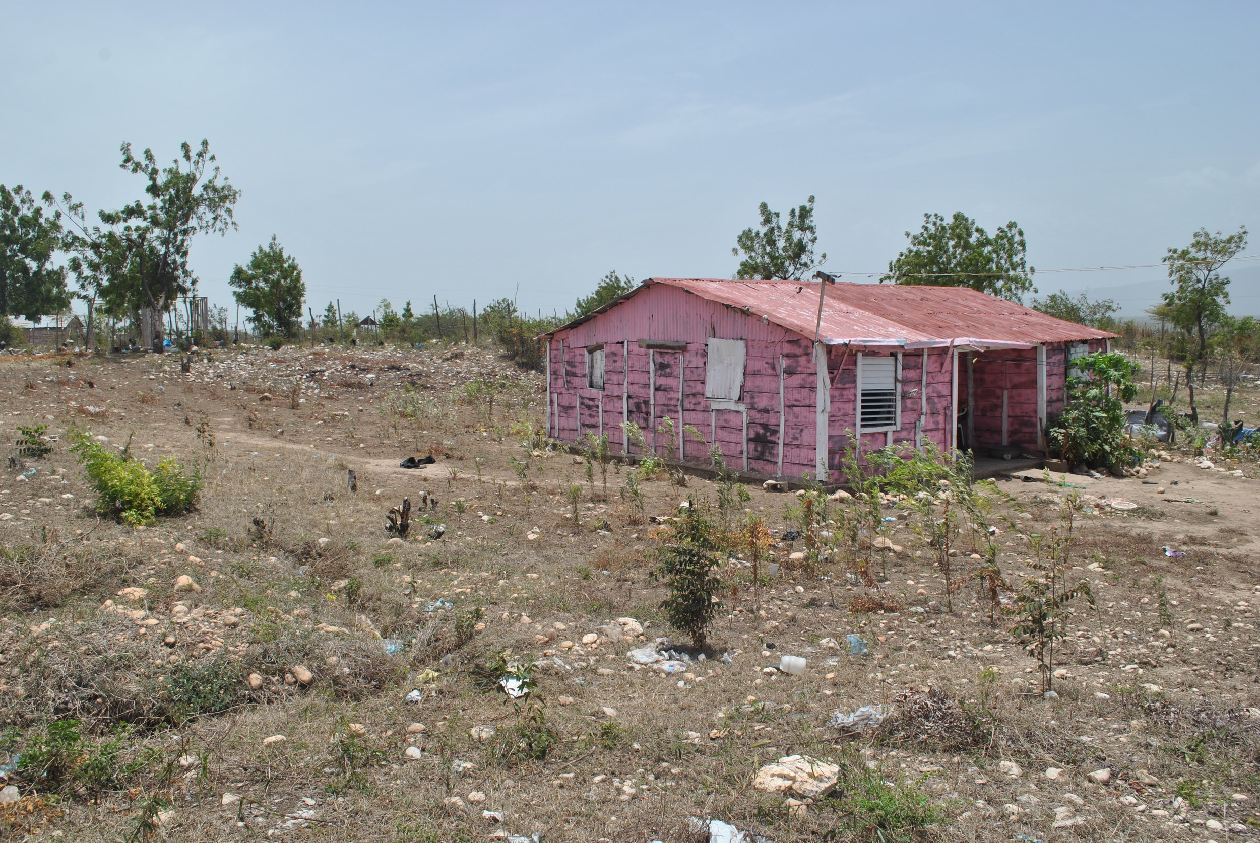 Pink House at Batey Milton