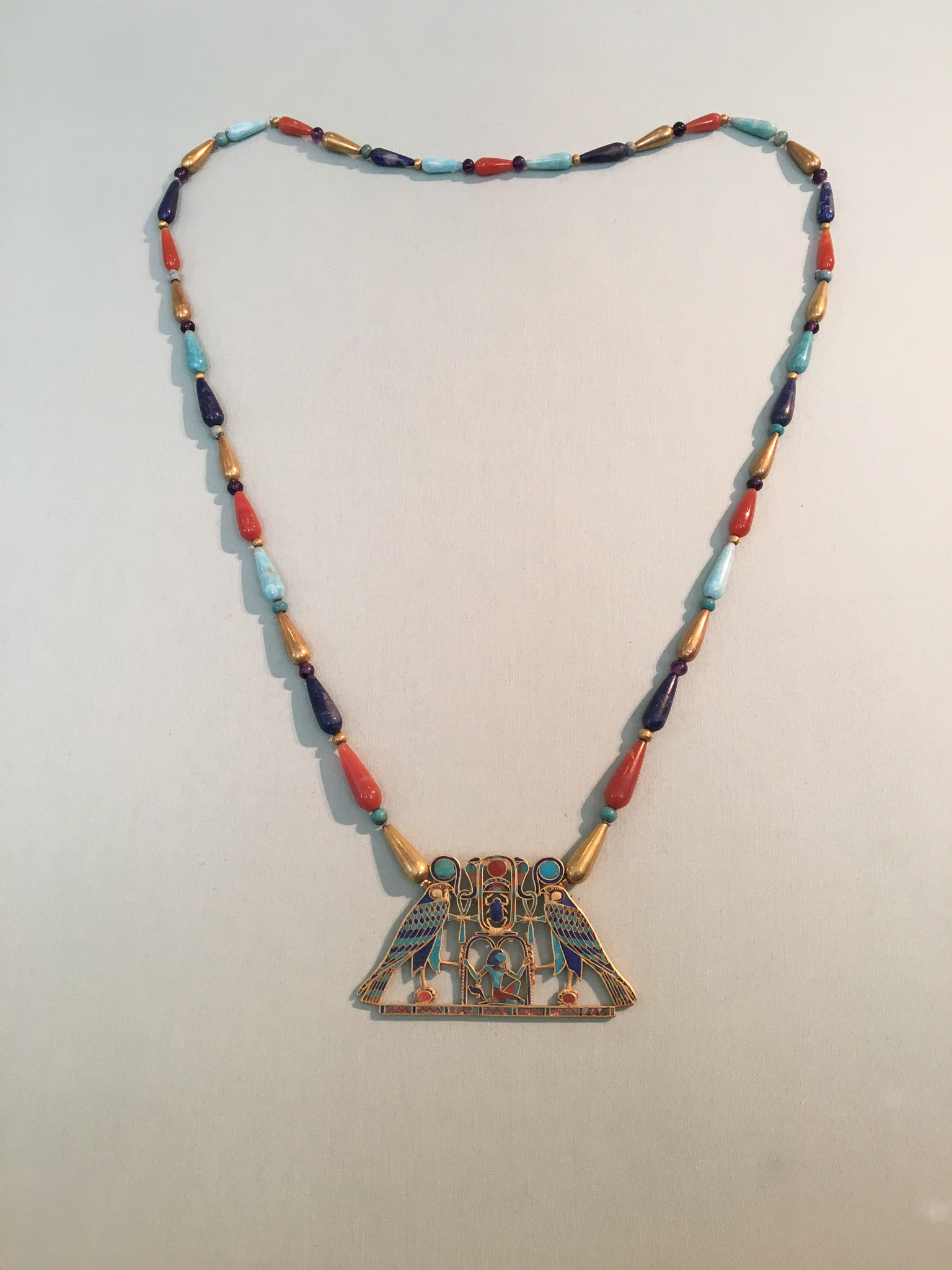 Pectoral and Necklace of Sithathoryunet ca. 1887-1813 B.C.E.