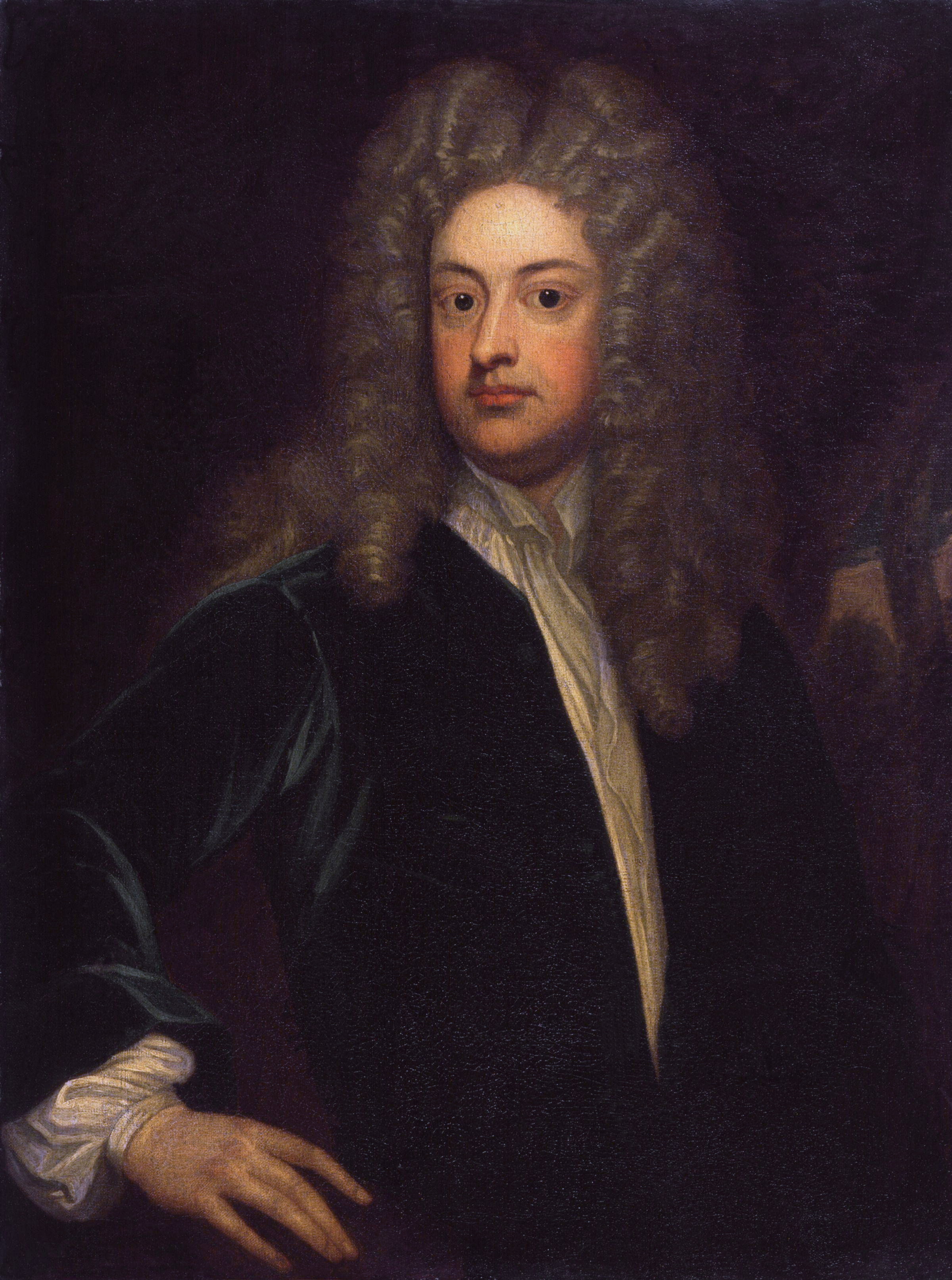 Joseph Addison by  Sir Godfrey Kneller