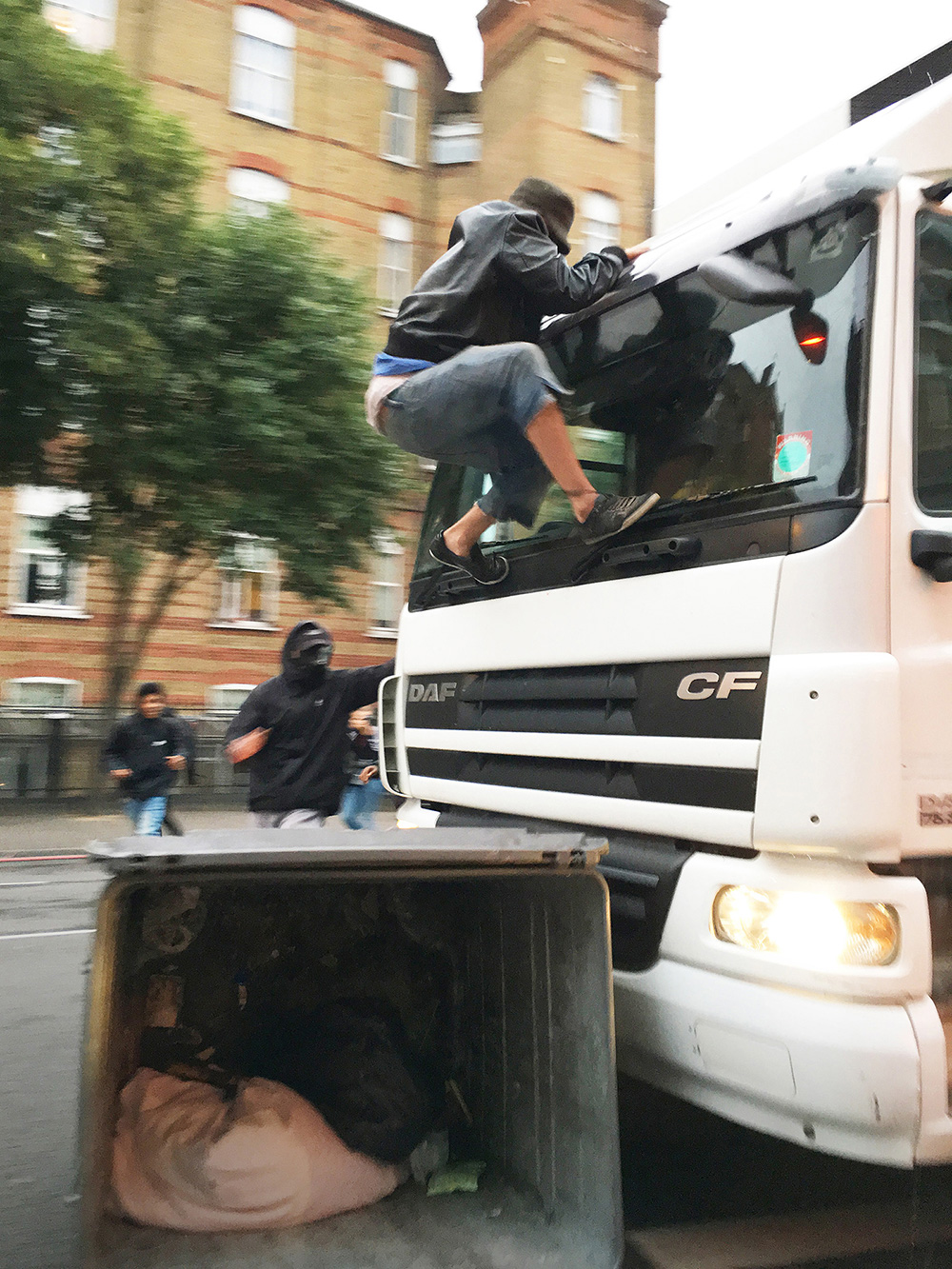 28th July 2017 - Riots broke out in Dalston over the death of Rashan Charles - Shot on iPhone 6S