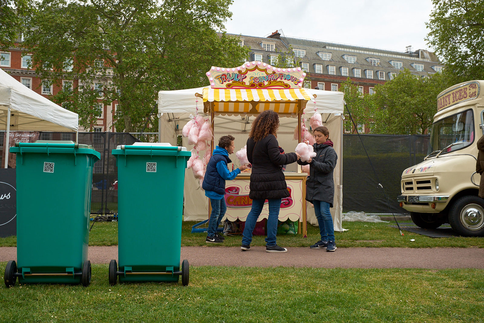 The perfect day for candy floss.