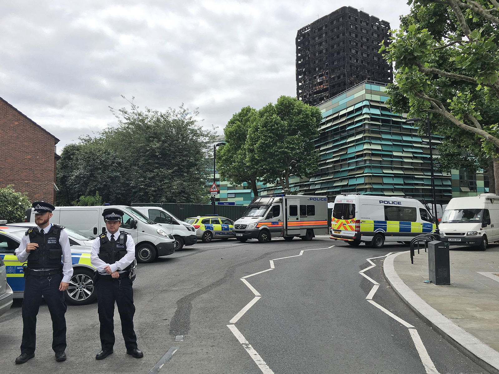 Grenfell Tower   On the 14th of June 2017 a blaze at Grenfell tower took the lives of 71 people. 70 more were injured. The building burned for a total of 60 hours before a total of 250 firefighters were able to control it.