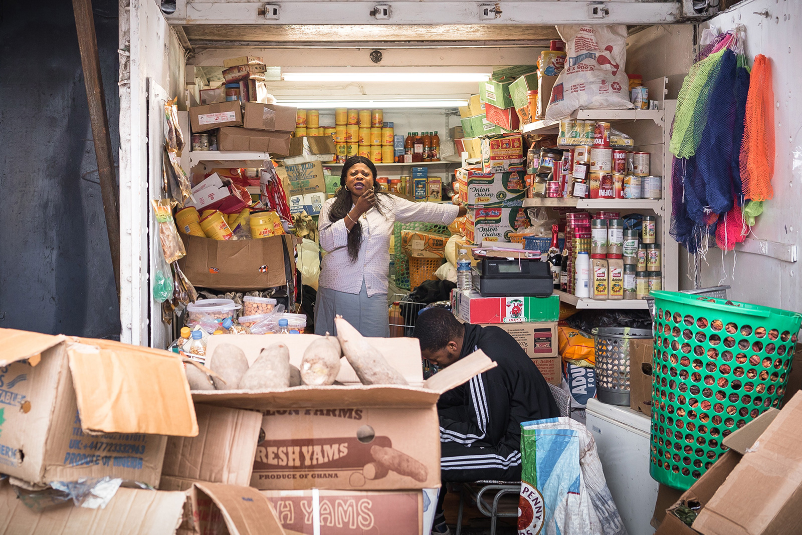 Market Trading   London has a lot of beautiful markets but they're mostly boring to shoot. A list of my favourite un-inviting markets where you're likely to encounter some form of aggression. Dalston, Brixton, Deptford and Peckham. Enjoy.