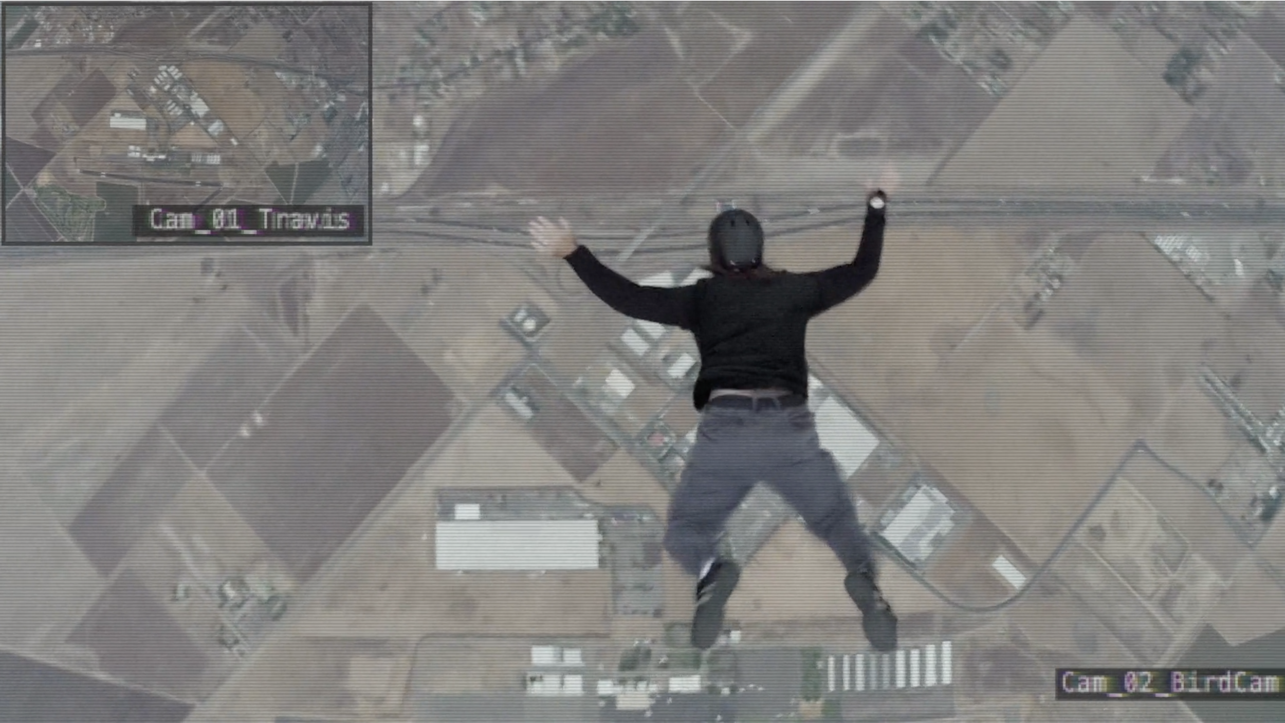 Man Jumps Out of Plane w/o Parachute - Viral Ad