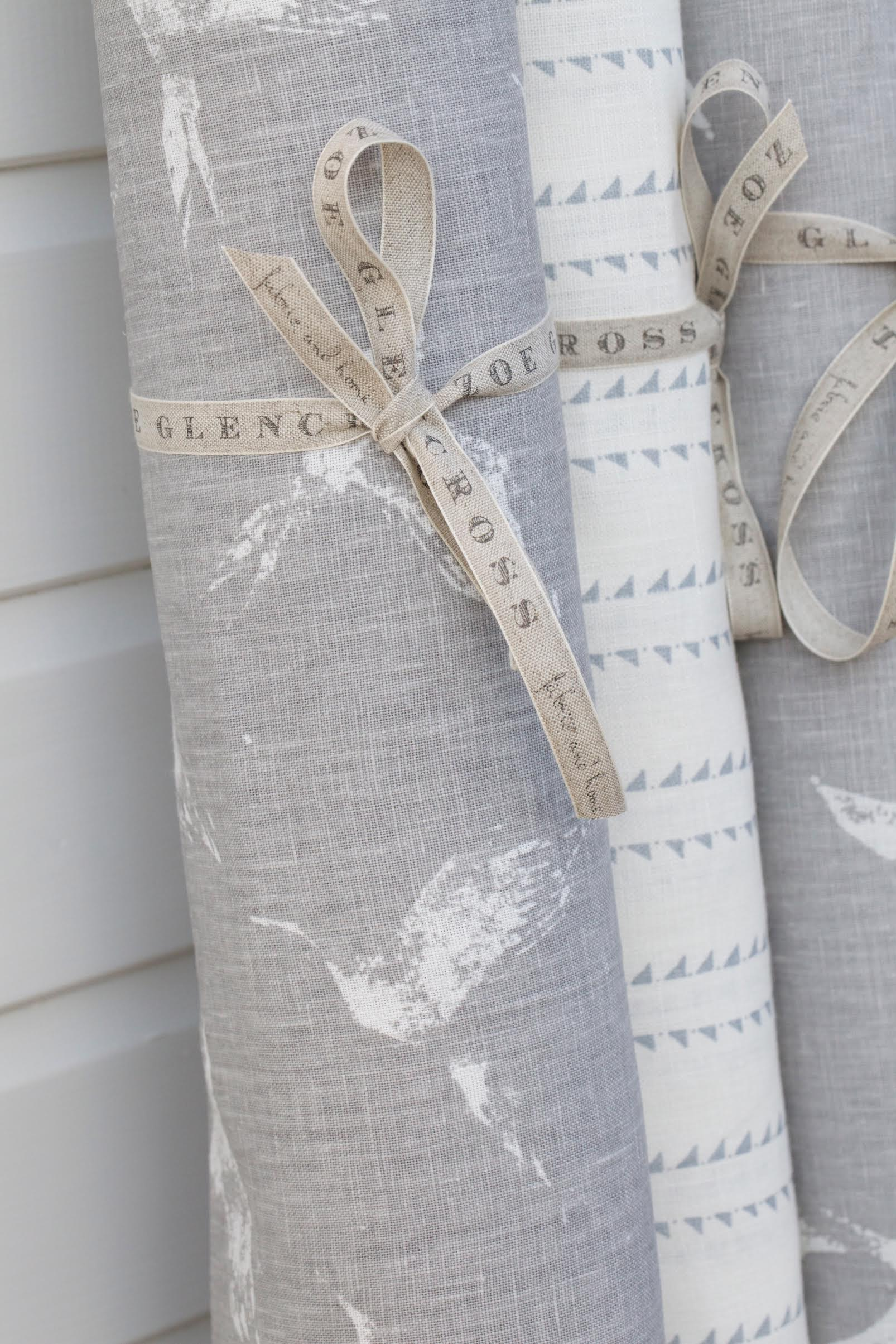 COOL COASTAL LINEN FABRIC