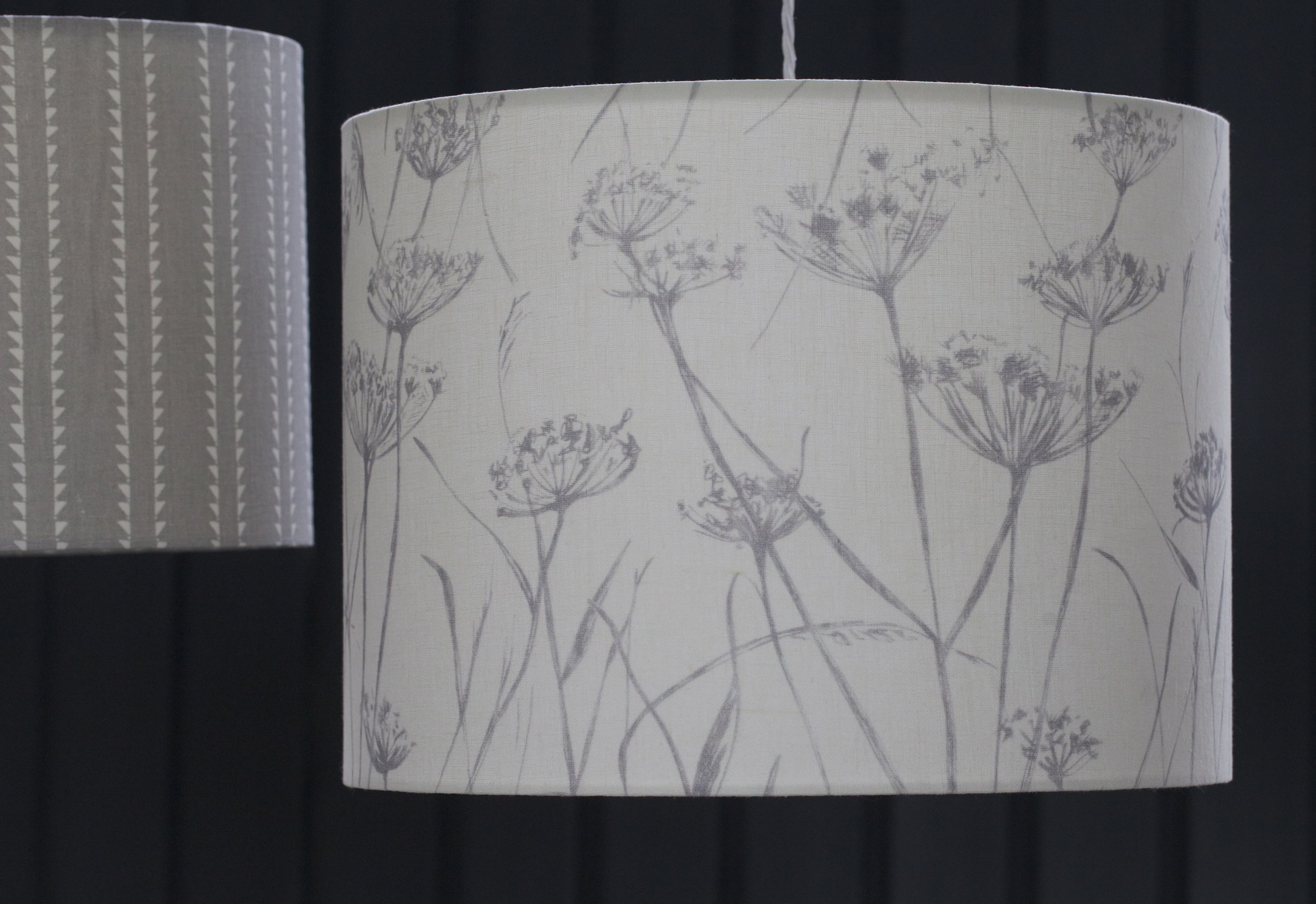 Putsborough Cowparsley Lampshade