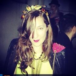 Instagram fashion influencer in Buenos Aires