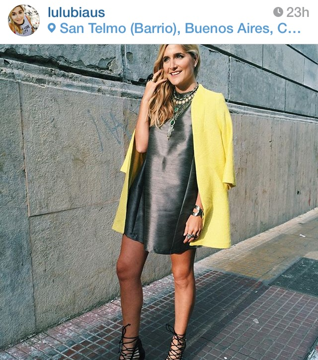 women's street style Buenos Aires