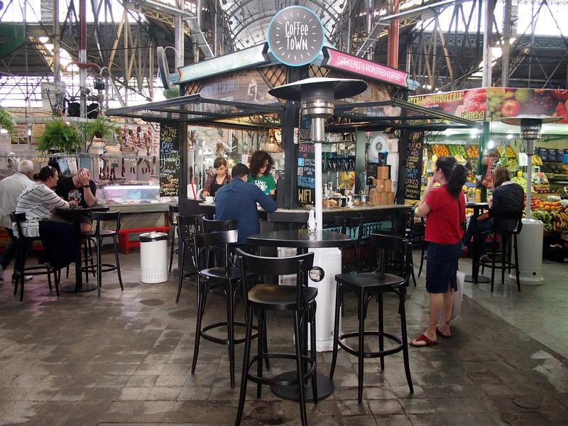 Buenos Aires San Telmo coffee shop