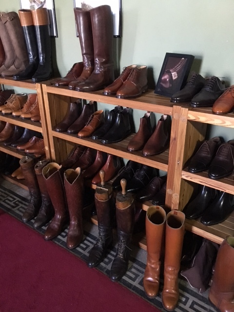 Bespoke men's boots and shoes