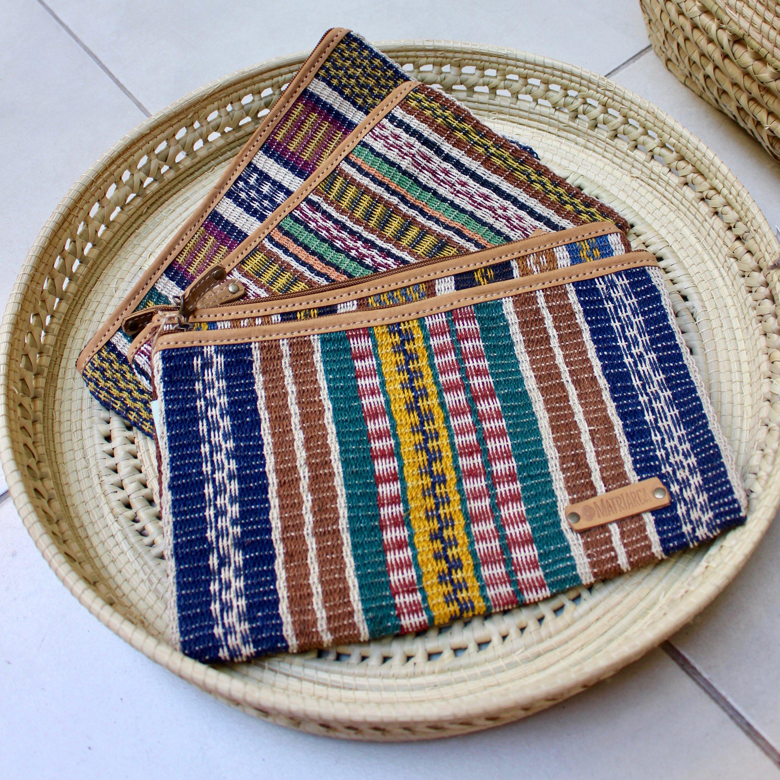 Artisanal handwoven bag by Indigenous Argentinian women