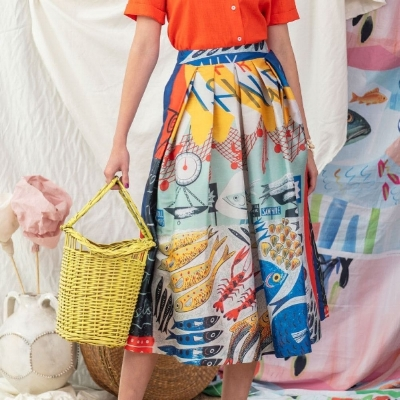 Photo: Buenos Aires designer  Mila Kartei