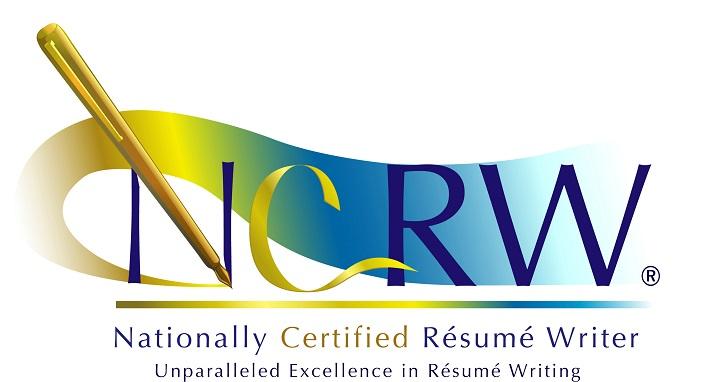 Nationally Certified Resume Writer