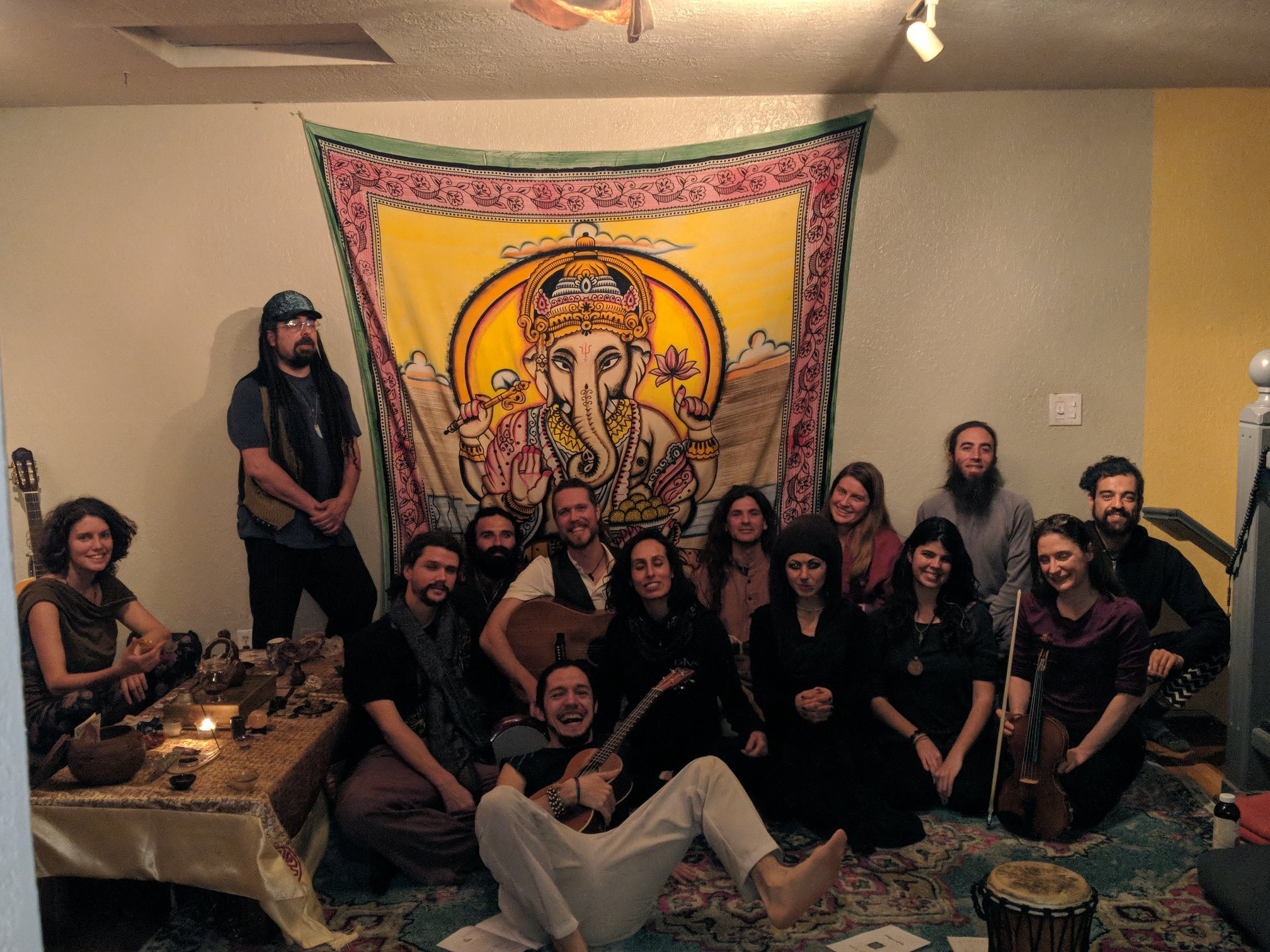 ^^ A glimpse into the warmth of Kirtans Past - our hearts are open, and our community is strong. ^^