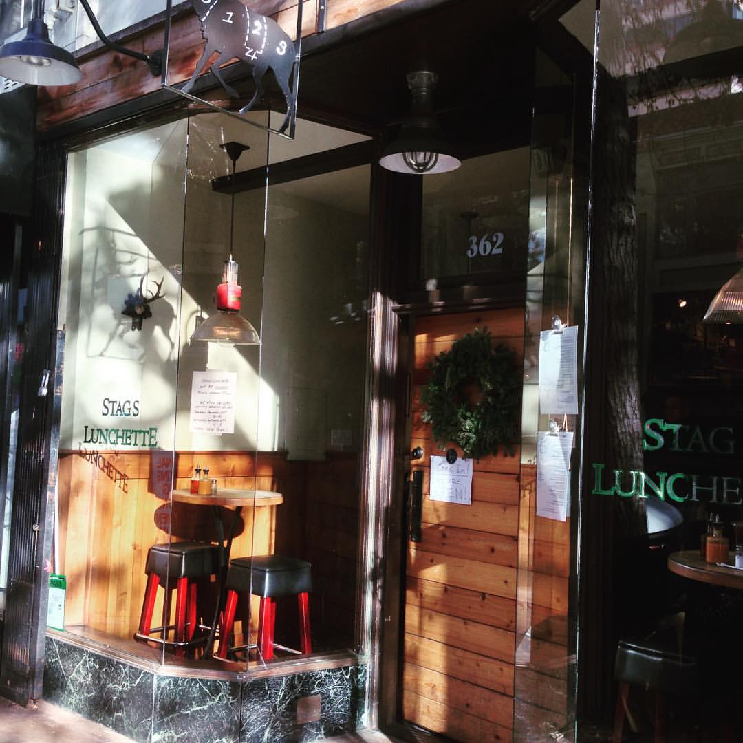 Looking for fabulous breakfast or lunch in OAkland today? @staggslunchette is open!!! #oakland #yummy #local #staggslunchette  (at Stag's Lunchette)