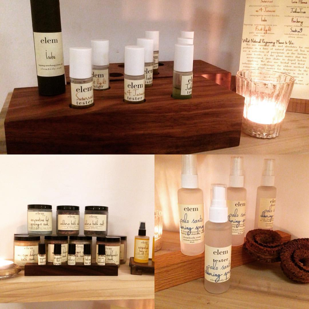 We are so thrilled to have @elembody at Kosa! You must come, try these thoughtfully deeply complex scents…#elembody #artisan #handmade #bayarealove #fragrance #oakland  (at KOSA ARTS)