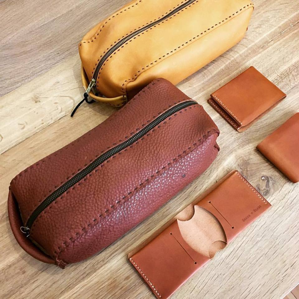 Dopp Kits + Wallets
