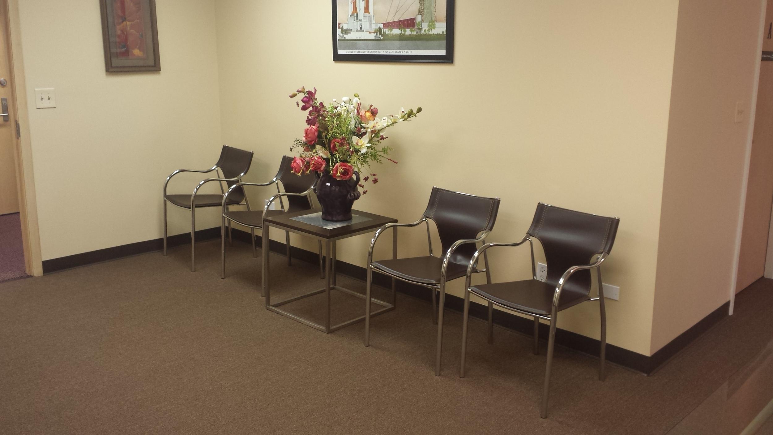 Waiting Area - Oakbrook Terrace Office