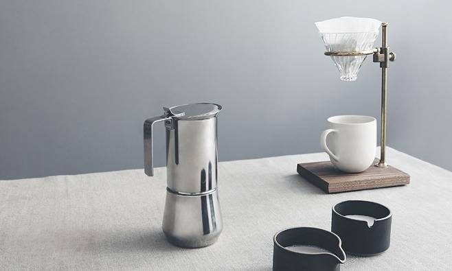 kaufmann mercantile espresso maker