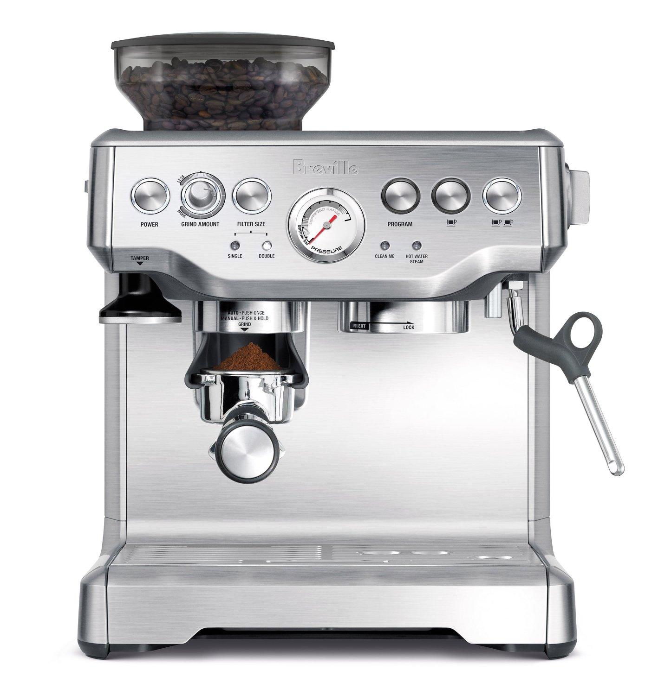 BES870XL Barista Express Espresso Machine | Breville | $580
