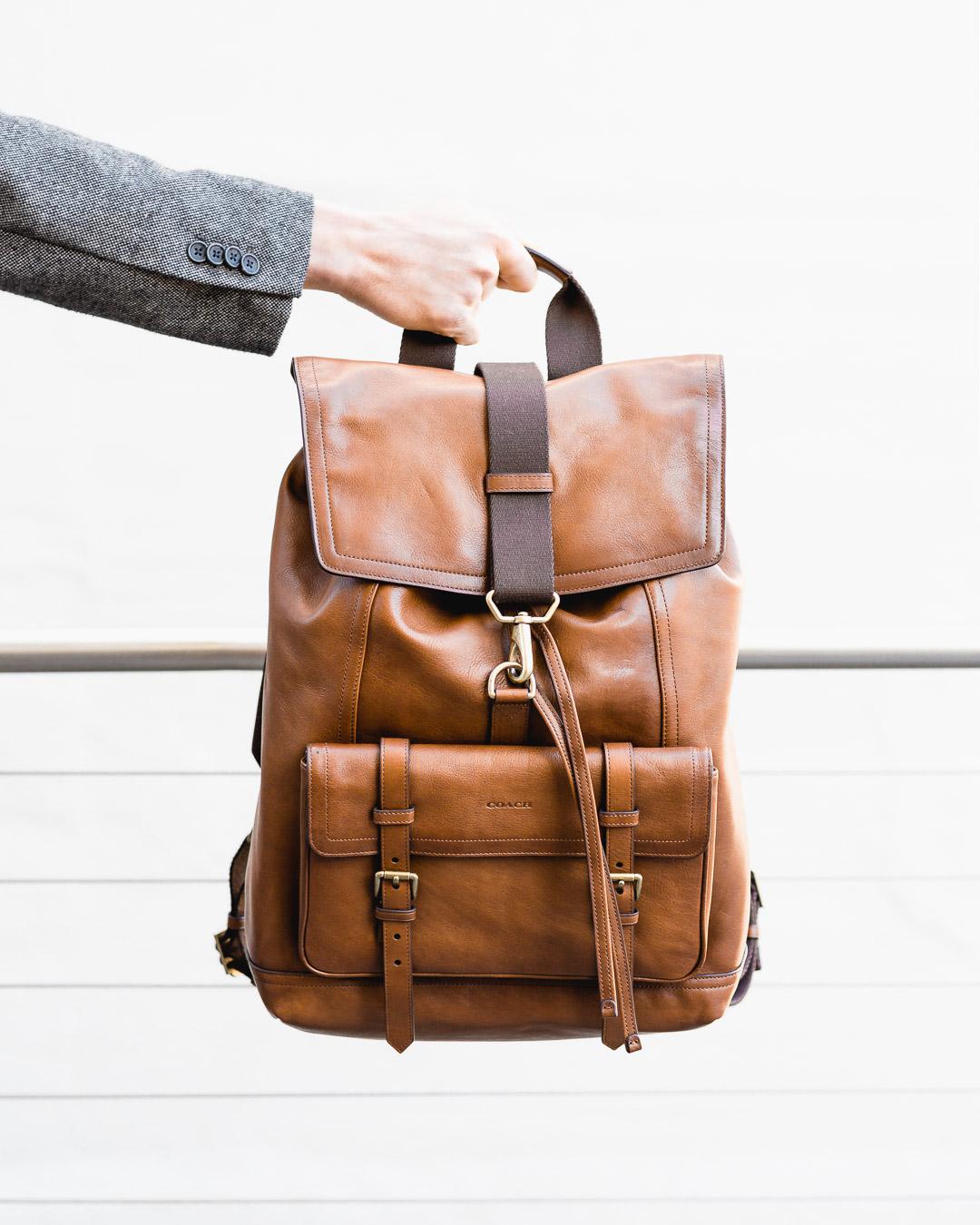 coach bleecker backpack the cuff
