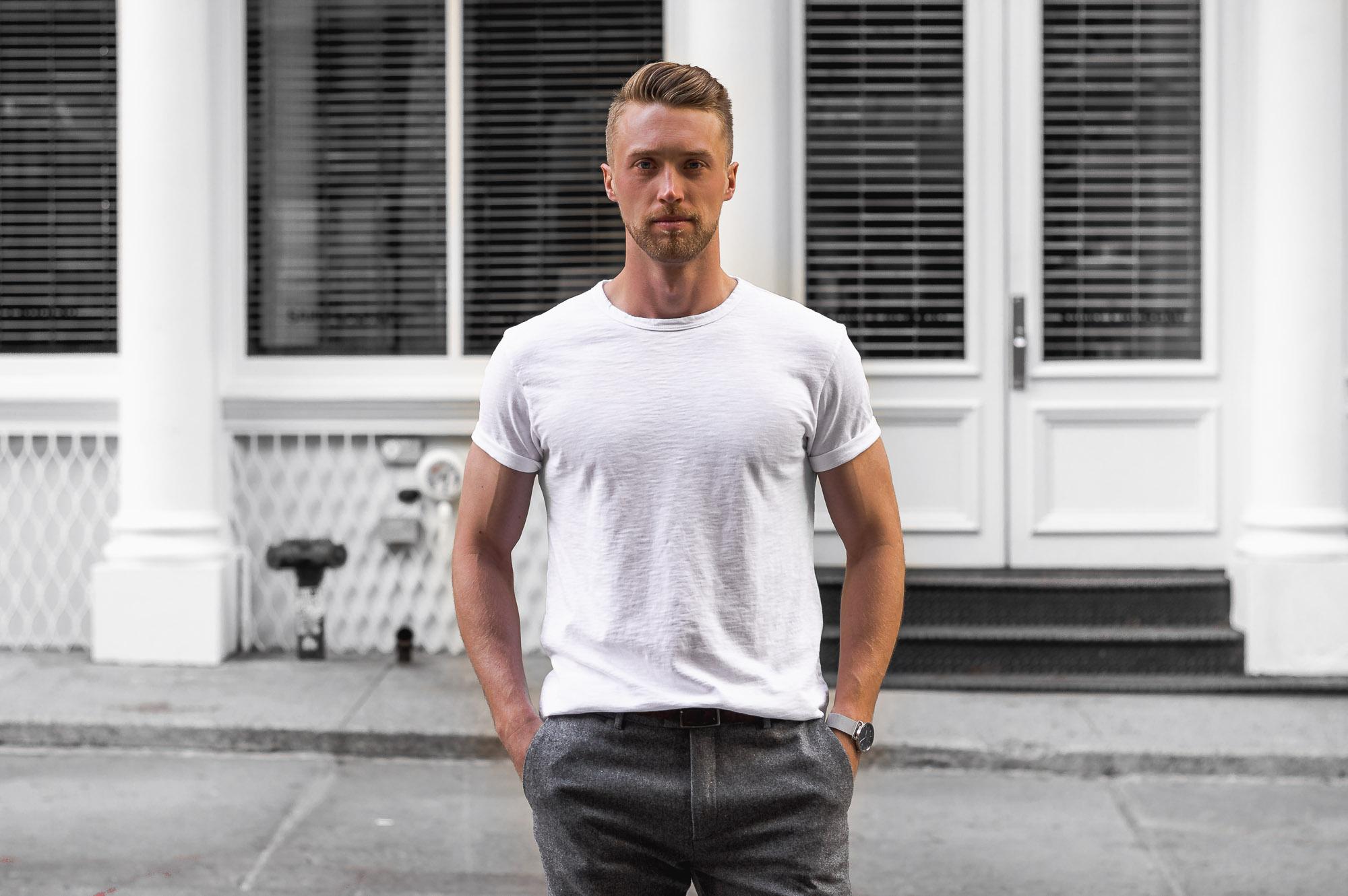 sharply joe crew neck t-shirt