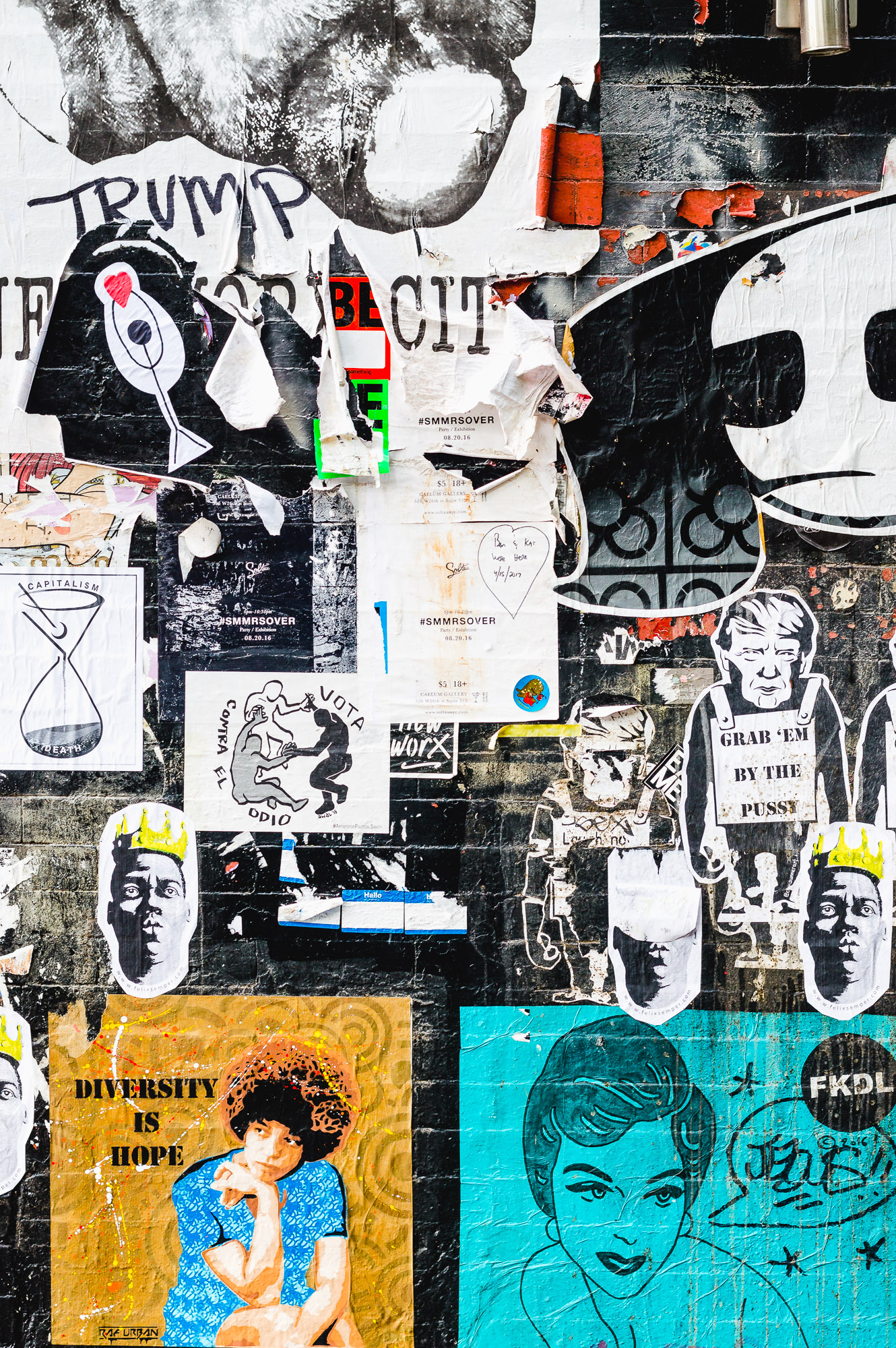 street art graffiti chelsea manhattan nyc