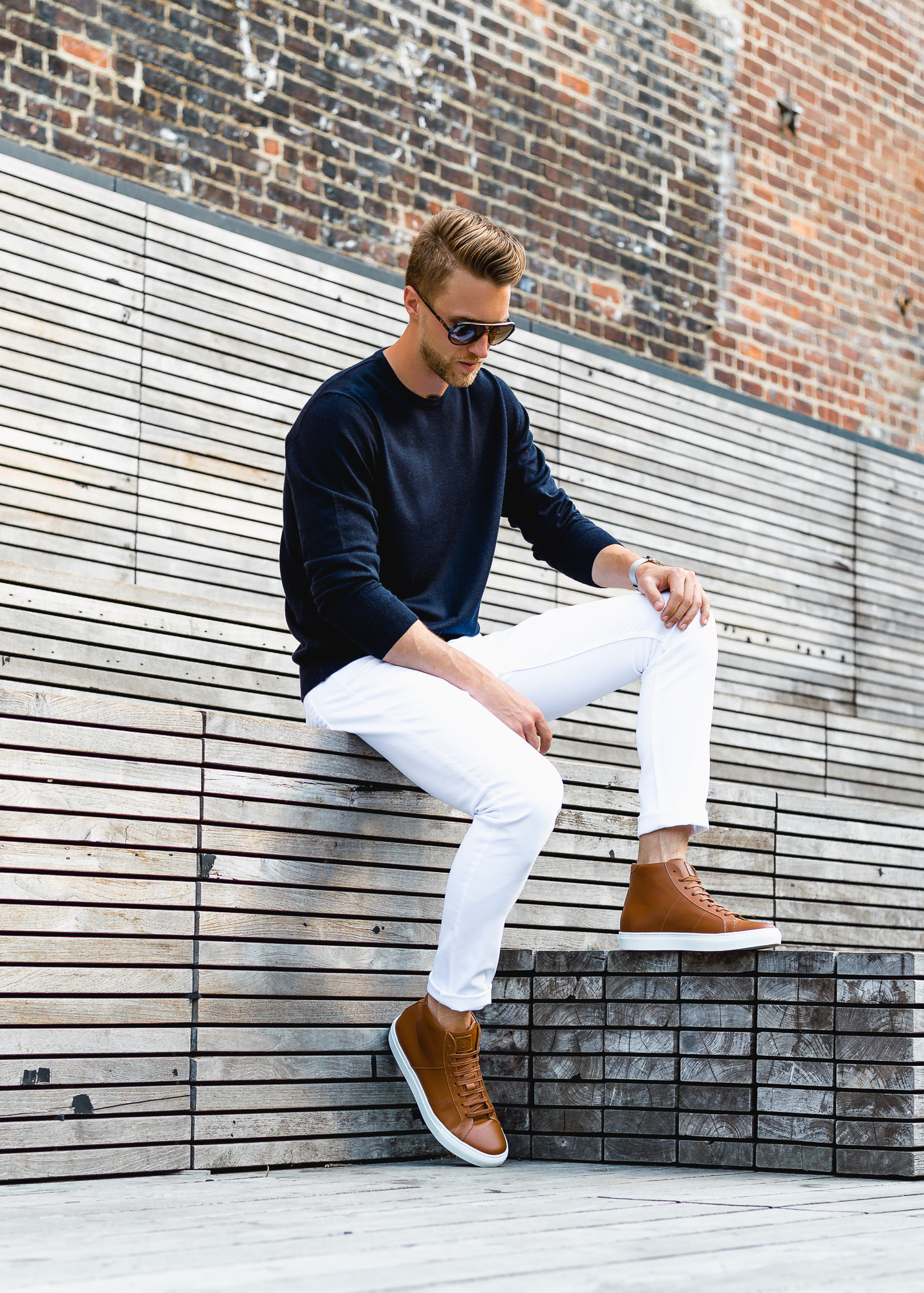 greats brand the royale high cuoio