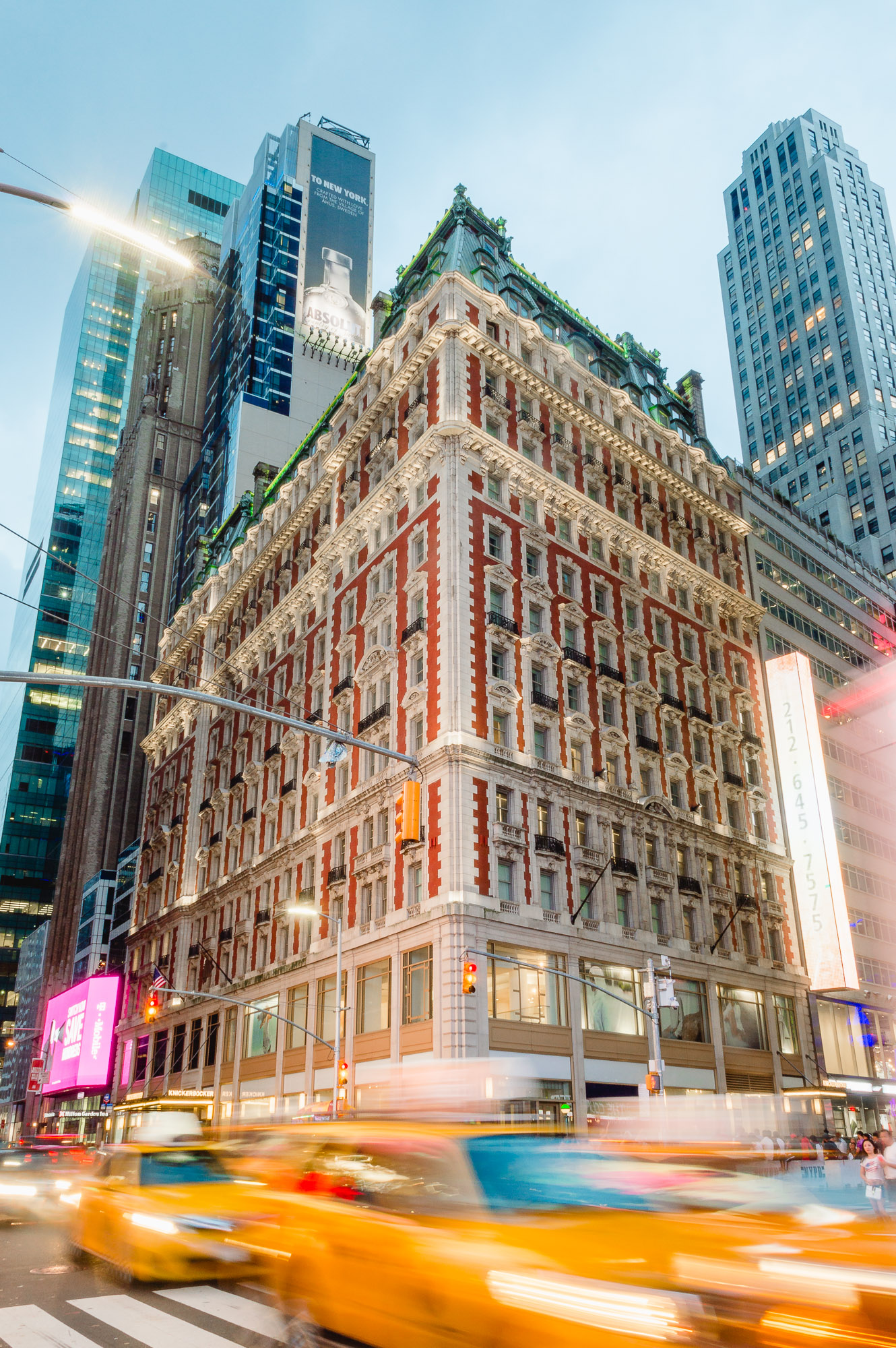 the knickerbocker hotel times square nyc