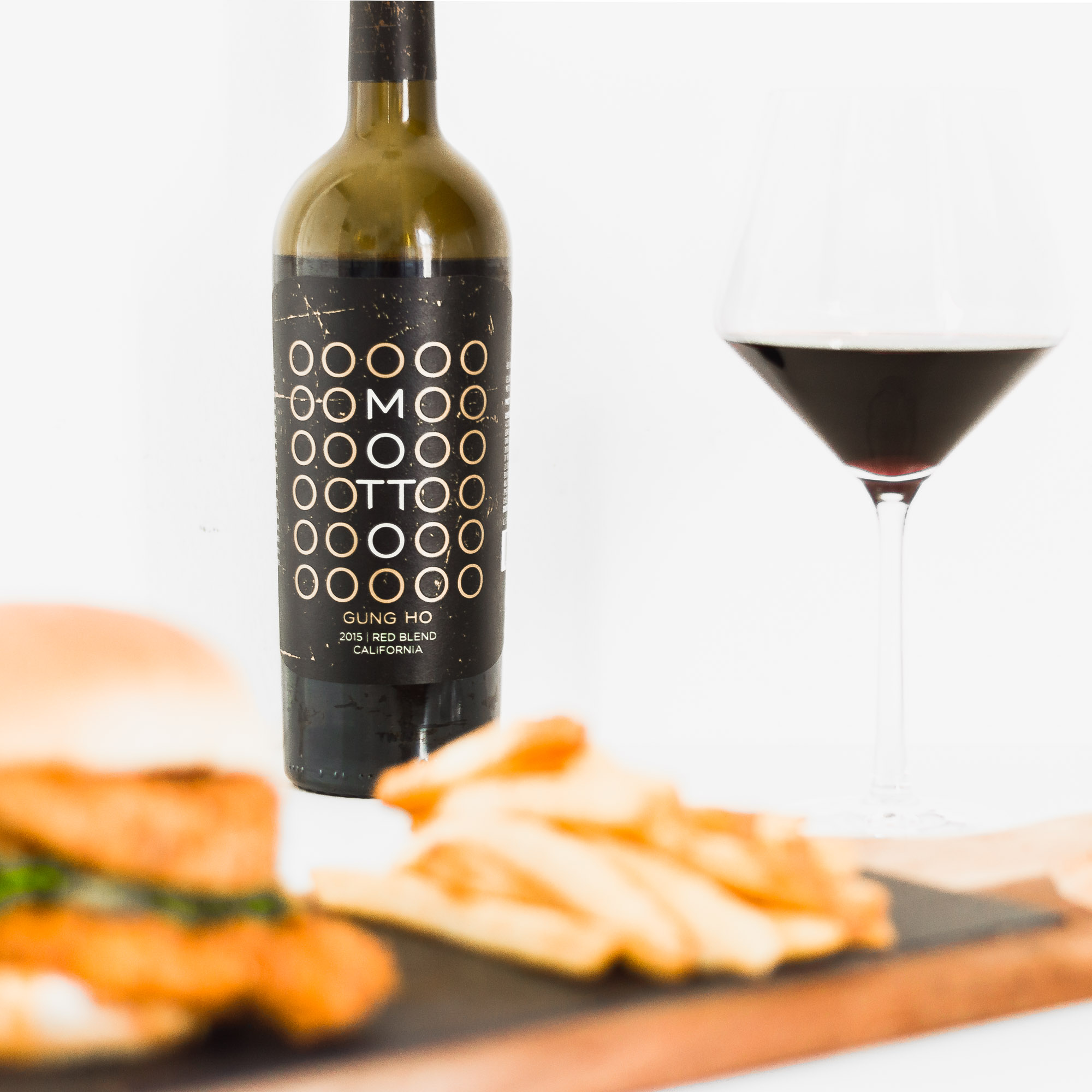 gung ho red blend motto wines