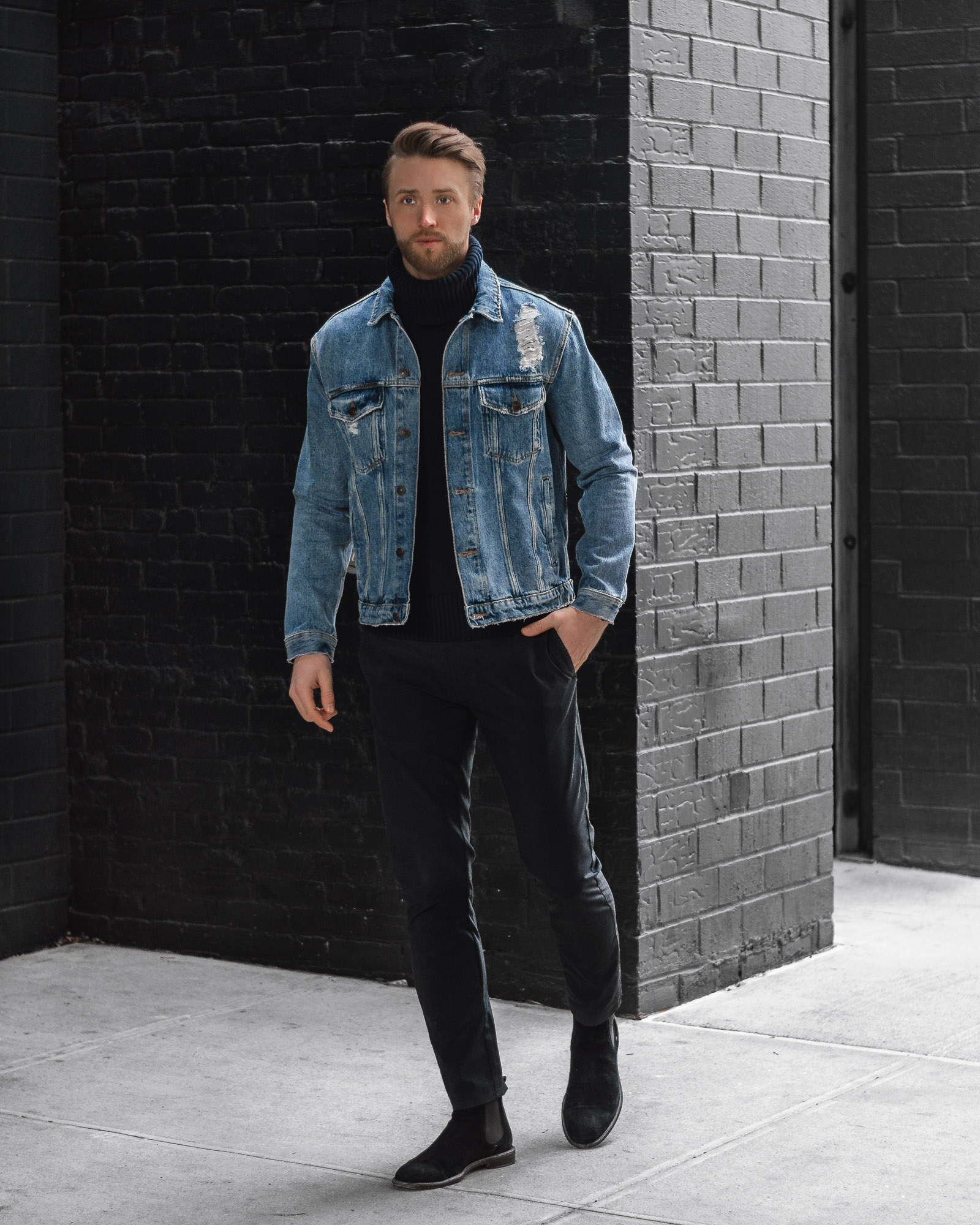 denim jacket the cuff men's style