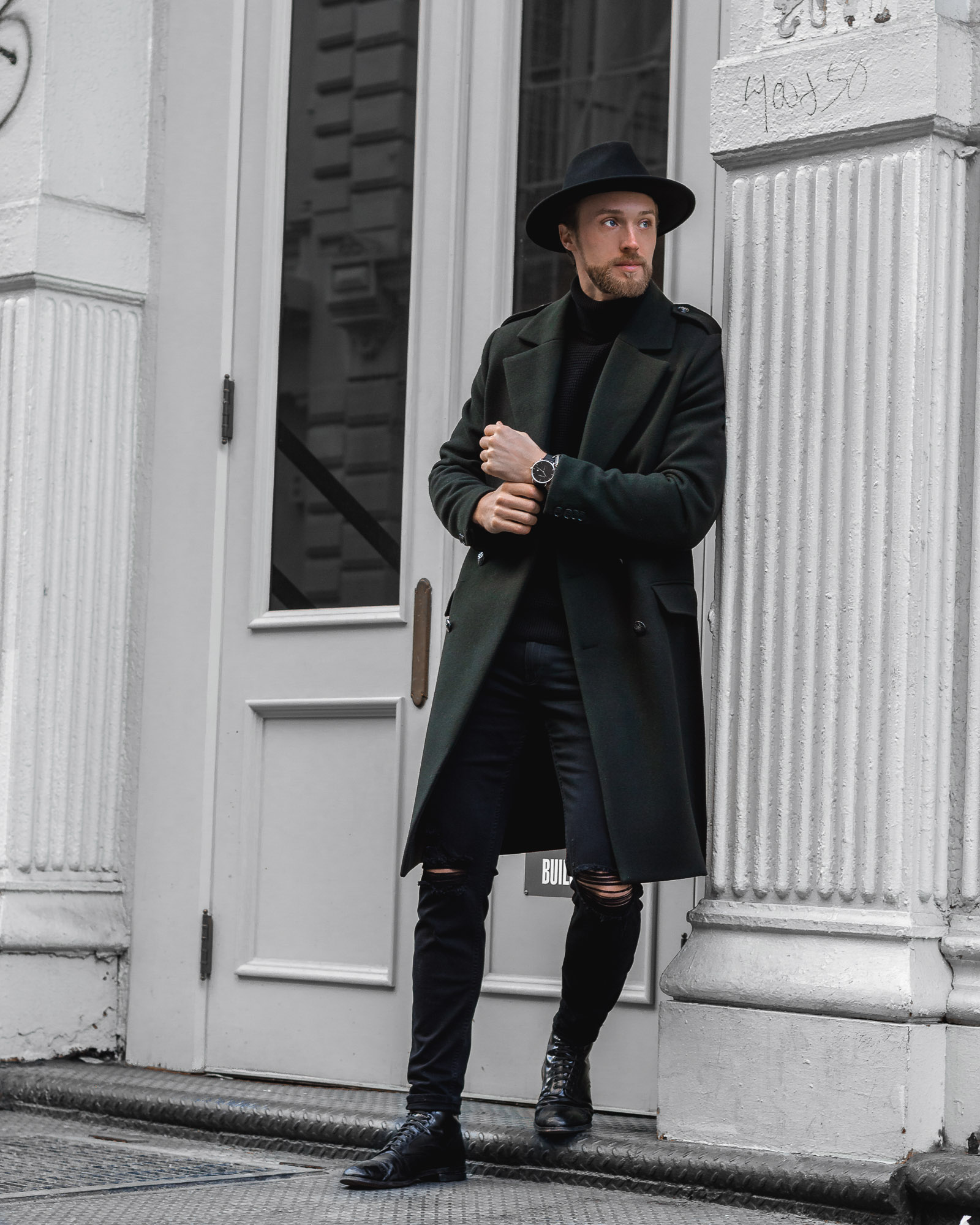 the cuff outfit menswear ben brewster style
