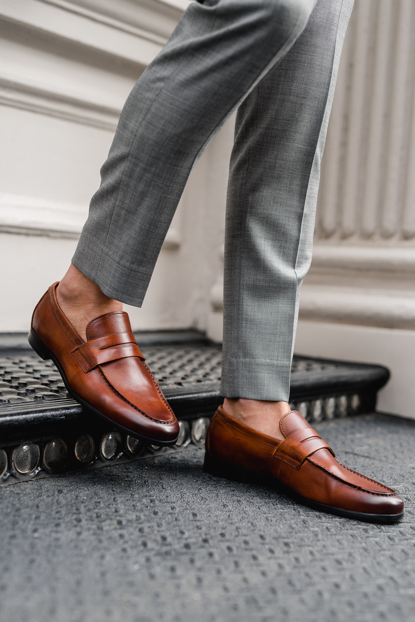 blake mckay skyler penny loafer the cuff