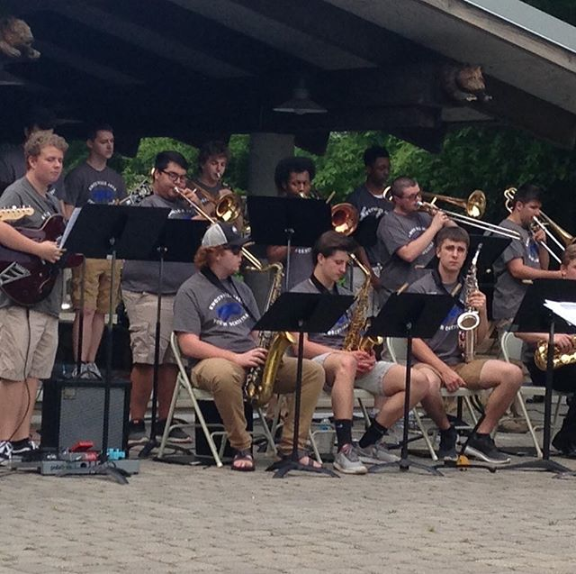 Knoxville Jazz Youth Orchestra at #ijamsnaturecenter, happening now! Missed it? Join us May 19 for Cocktails & Jazz: Blues on the River with Matt Coker's Hammond B-3 Organ Trio! Knoxjazz.org #knoxvillejazzorchestra
