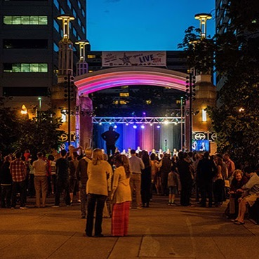 Join the KJO for Jazz on the Square every Tuesday starting May 16! These FREE concerts run through the end of August. Next week: KJYO kicks off series from 6:30-7:30, then the KJO big band takes the stage 8-10. #knoxvillejazzorchestra #jazzinknoxville #jazzinknox #knoxrocks #cityofknoxville