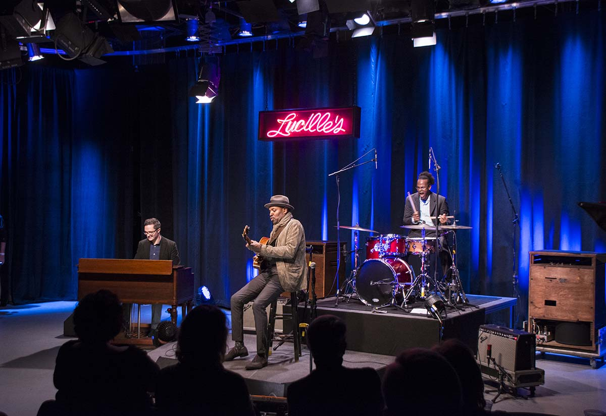Click the image to watch Live at Lucille's Episode 1: Bobby Broom's Organi-sation