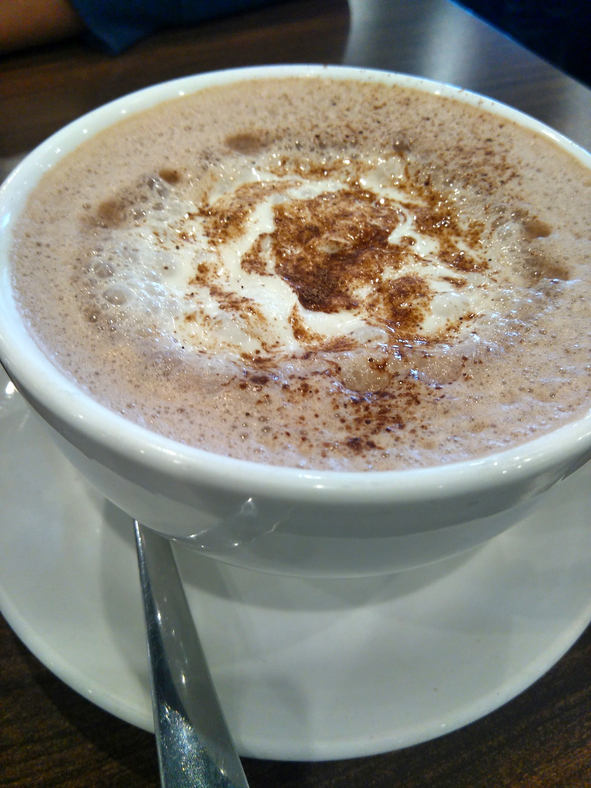 Hot Chocolate at William's Cafe