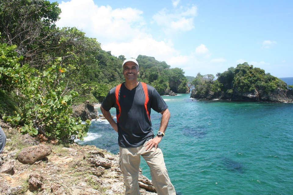 Meet Your Tour Guide, Emile Michael Serrette - Pic is property of Nature Trekking.
