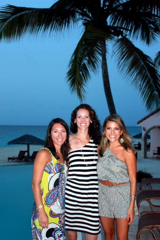 Shannon K. founder of The Wanderlust Effect & friends - Anguilla