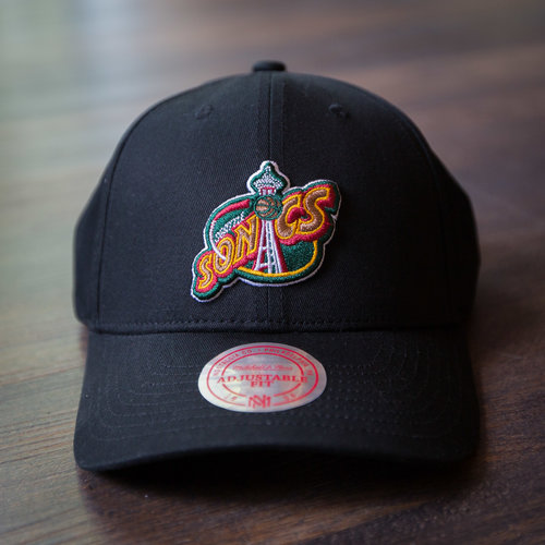 7b69fc1f Mitchell & Ness Seattle SuperSonics Space Needle Dad Hat. 0F7A2104.jpg