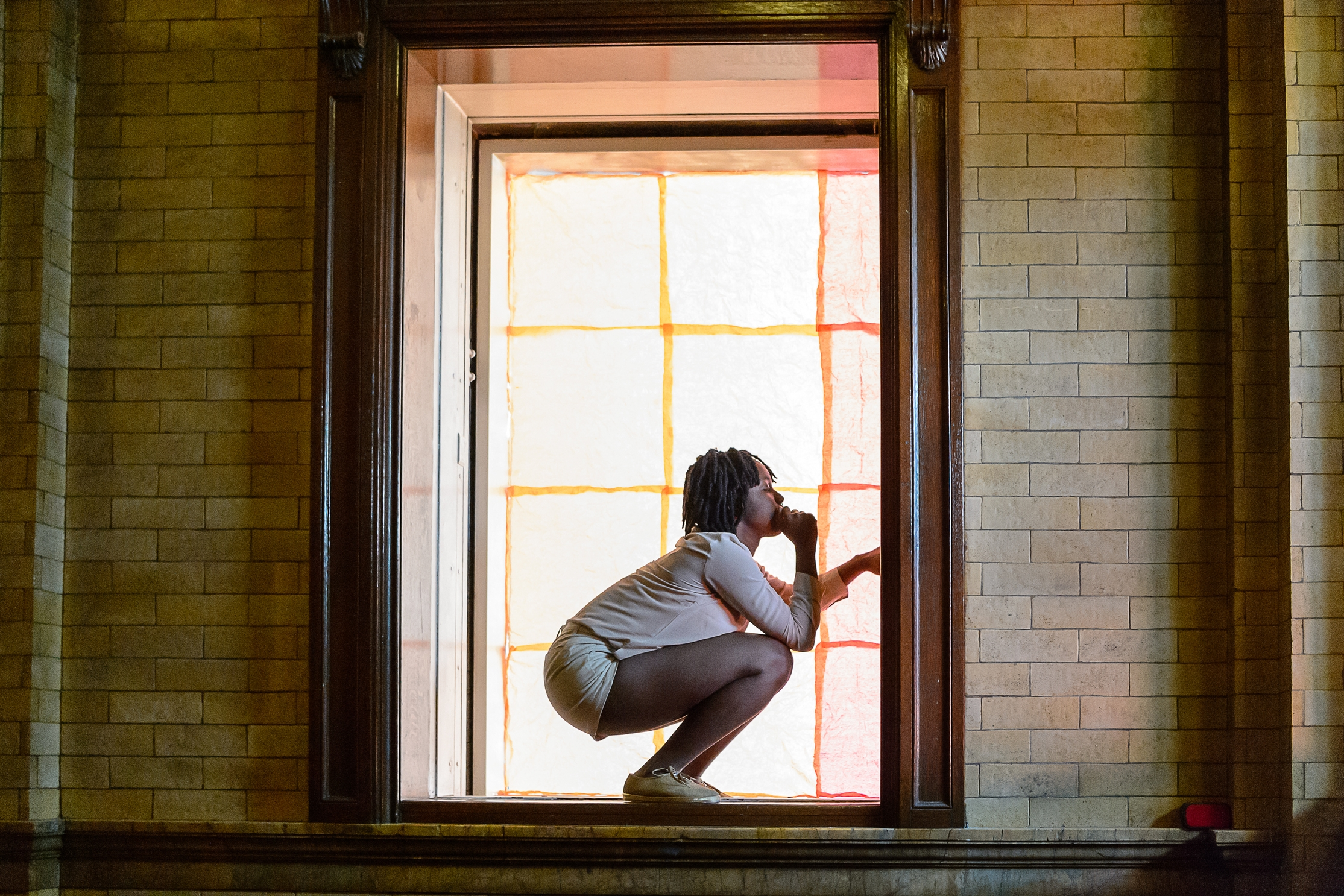Dance for the Westbeth Elevator Lobby & Gold Shoes (Dance, 2016)